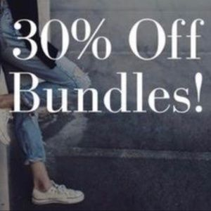 30% Off Bundles!